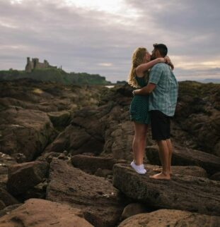 A Beautiful Bay Shoot For Stephanie and Dominic
