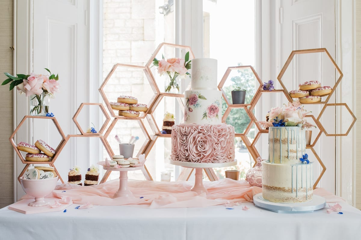 Ombre Dresses, Delicious Desserts And Beautiful Styling