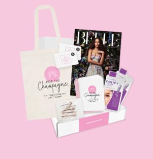 INTRODUCING BELLE BRIDAL'S NEW BRIDAL GIFT BOX: #mybridebox