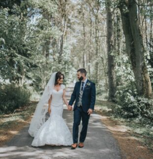 Jayne and Jack's Pastel Perfect Summer Showstopper at Woodhill
