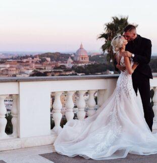 Chloe and Footballer Davide Santon's Italian Dream