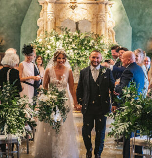 Charlotte and Lenny's French Floral Fantasy at Le Petit Chateau