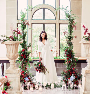 Ruby Romance, A Guest List Collaboration at Kinmount House