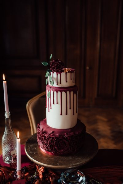 Cake by Cakes by P., Image by Marni V Photography
