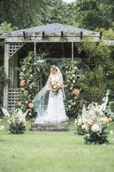 Dress from Y.A.P. Maften Hall Gardens. Image by Sean Elliott