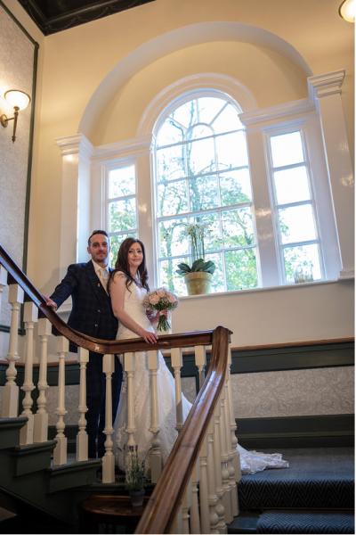 Hallgarth Manor Real Wedding Gemma Andrew
