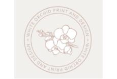 White Orchid Print & Design