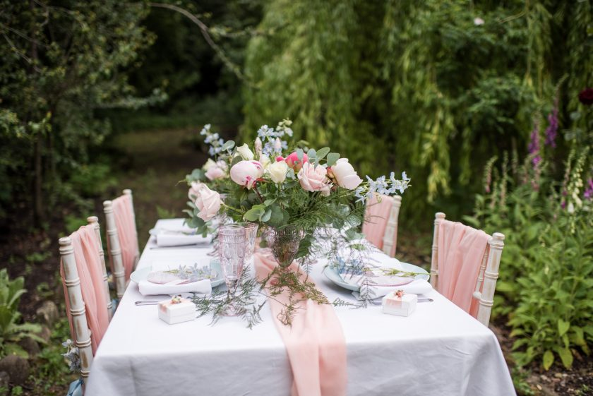 Venue Styling by Rosa Aqua, Photography by Jane Beadnell photography