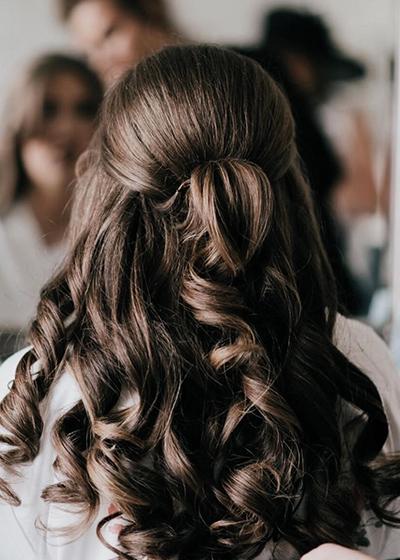 Sophie Punshon Wedding Hair
